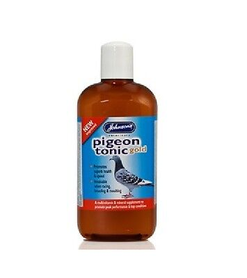 JVP Johnsons Pigeon Tonic Gold 1 x 500ml Pigeon tonic  Racing Breeding Resting