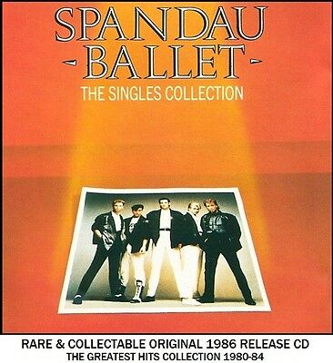 Spandau Ballet - The Very Best Greatest Hits Collection RARE 80's Synth Pop