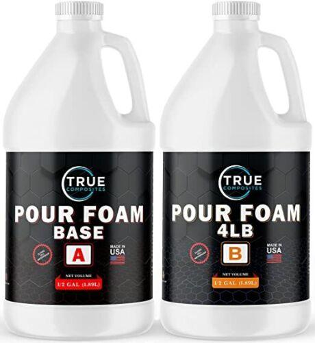Liquid Polyurethane Expanding Foam Kit Closed Cell Flotation Insulation 4LB Size