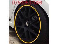Alloy protection Vauxhall GSI SRI VXR Astra Corsa Signum Insignia Zafira Adam Golf Polo GTI TDI Lupo