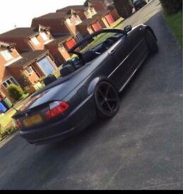 BMW e46 330d M sport Convertible