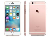 SALE !!! Apple iPhone 6s 64GB Rose Gold VERY GOOD CONDITION