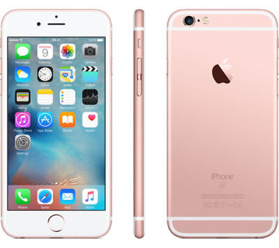 New Apple iPhone 6s 128GB Factory Unlocked Smartphone A1688 CDMA GSM Rose Gold