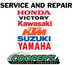 Motorcycle service/repair shop, Coopers Motorsports!
