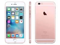 *Factory Unlocked - Very Good* Apple iPhone 6S Rose Gold 16GB latest iOS 11