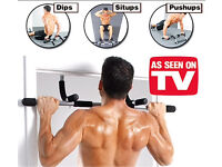 New Upper Body Door Gym, Fully Sealed Boxed, No Damage to your Doors. Was £36.00 , Sell £17.