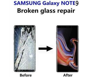 Samsung Galaxy Note 9 cracked screen display glass LCD repair FAST **