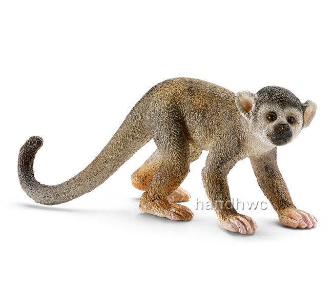 Schleich 14723 Squirrel Monkey Toy Model Animal Figurine {RETIRED} - NIP