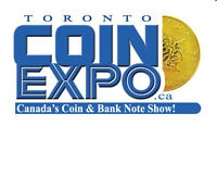 Join Us Sept 30 - Oct 1, 2016 - TORONTO COIN EXPO - Coin Show