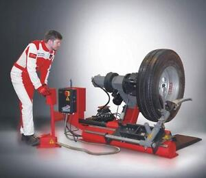 Demonte pneus, tire changer vehicule poids lourd, truck, autobus MACHINE A PNEUS HD