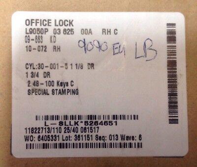 Schlage Mortise Lockset Lever Crome 625 El9050 Office A-27