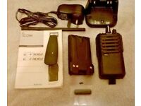 ICOM IC-F3002 Hand Held VHF Transceiver Professional Radio in box.