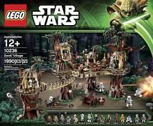 LEGO 10236 Star Wars Ewok Village Luke Skywalker Han Solo Leia Indooroopilly Brisbane South West Preview