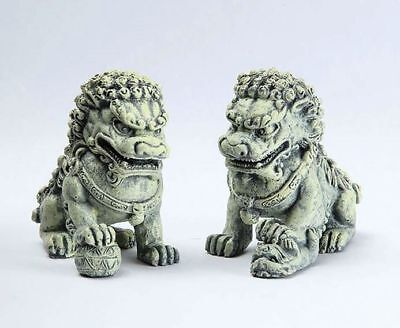 Miniature Fairy Garden Zen Foo Dog Picks - Set of 2 - Buy 3 Save $5