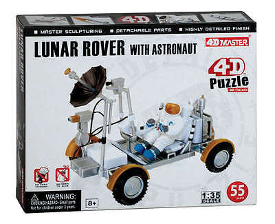 PZ26374 4D NASA Apollo Lunar Rover and Astronaut Set 1:35 Scale Model 55 Parts for sale  Shipping to Canada