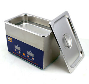 New-Industry-Lab-Stainless-Steel-Digital-Ultrasonic-Cleaner-w-Heat-2-5-Litter