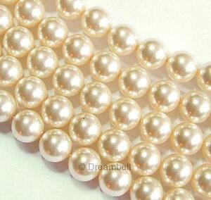 Swarovski Crystal Pearls Element 5810 Round Bead Many Color & Size Series #1