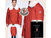 Moncler jacket not stone island polo armani versace
