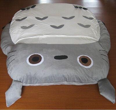 290 160cm New Huge Comfortable Cute Cartoon Totoro Bed