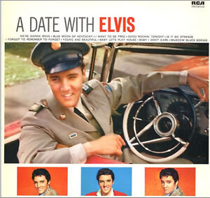 Elvis-Presley-A-Date-With-Elvis-LP-180-Gram-Audiophile-Vinyl-Limited-Anniv