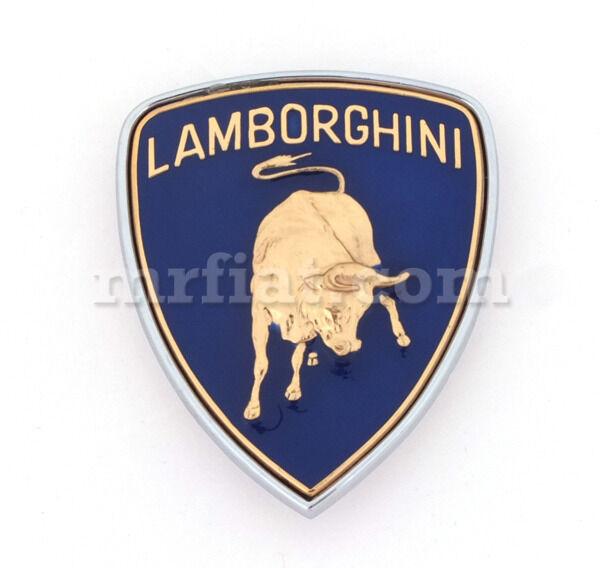 Lamborghini Enamel Emblem New