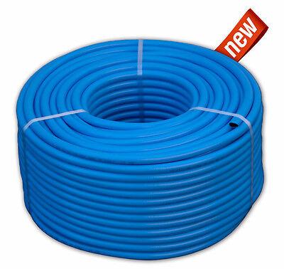 Druckluftschlauch 13 mm x 2,5mm 50m blau flexibel Luftschlauch Gewebeschlauch