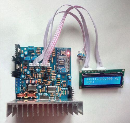 AM MW RADIO BAND DIGITAL LCD DDS TRANSMITTER 25 WATT PEP