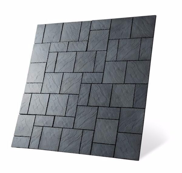 Chalice Paving 7.29 Square Metre Paving Kit 2.7m x 2.7m Welsh Slate Colour Only £164.99