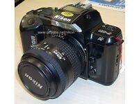 Nikon F-401 35MM SLR FILM Camera with AF Nikkor 35-70 Lens