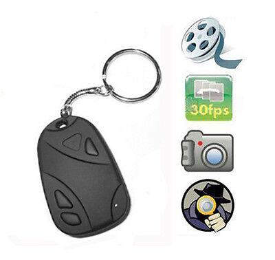 Mini Car Key Chain Spy Camera Hidden Pinhole Security DVR Video Digital Recorder Car Key Chain Dvr