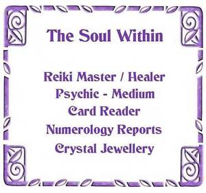 The Soul Within Reiki & Spiritual Healing Miller Liverpool Area Preview