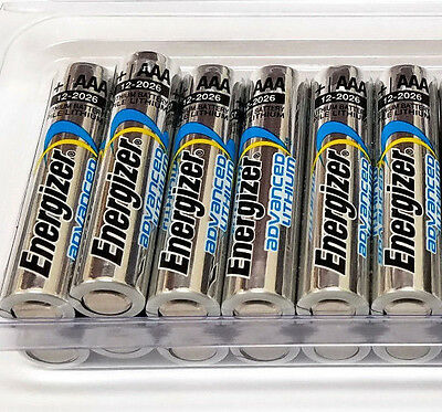 Pack of 12 AAA Energizer Advanced Lithium Batteries, Longest Lasting, Extreme
