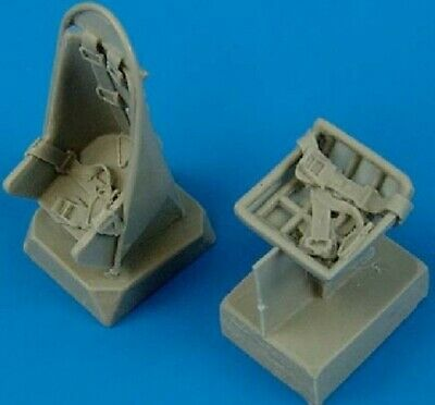 QUICKBOOST  1/48 Ju87B Stuka Seats w/Safety Belts for HSG  QUB48499 for sale  Columbia