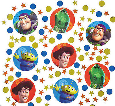 Disney Toy Story  birthday party supplies TABLE CONFETTI 1 pack w/3 types Buzz +](Toy Story 3 Birthday)
