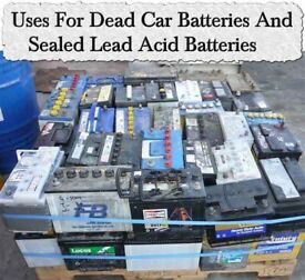 I buy old car batteries