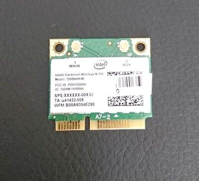 Intel Centrino Wireless-N 105 105BNHMW Mini PCI Express Wi-Fi Adapter Intel Wireless-n Adapter