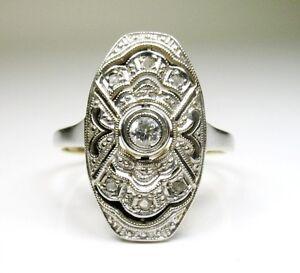 ANTIQUE-ART-DECO-18K-GOLD-PLATINUM-DIAMOND-RING