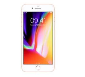 I phone 8 plus,64gb,gold,factory sealed