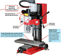 Brand New Milling machine with drill press extension