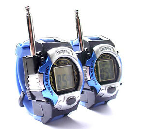 Two Way Radio Kids Walkie Talkie Wristlinx 2 Wrist Watch ...