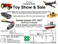 16th Annual Chatham-Kent Toy Show & Sale