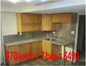 BN solid maple Kitchen upper cabinets Clearance!