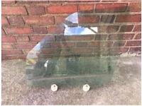 RANGE ROVER SPORT L320 PASSENGER NEAR SIDE FRONT DOOR WINDOW GLASS