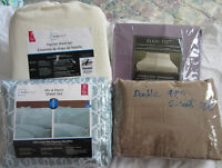 Brand new double and twin size sheet set for sale at half price