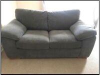 Harvey's 2 x 2-Seater Sofas, Grey, Excellent Condition