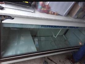 Drakes large counter display fridge