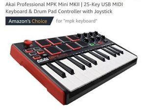 Professional keyboard and pad controller