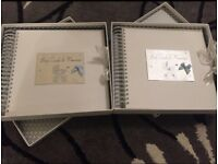 Baby Memories Books x 2