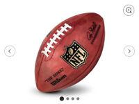 NFL THE DUKE GAME FOOTBALL