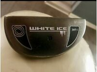Odyssey 340g WHITE ICE 9 PUTTER 35 inches top of the range Putter